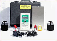 Static Solutions Inc., Megohmeter: Measures Electrical Resistance to Ground.